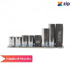 Kincrome K28035 - 8 Piece Metric 13MM On Clip Rail Single Size Socket Set