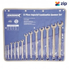 Kincrome K3027 - 13 Piece Imperial Combination Spanner Set Spanner