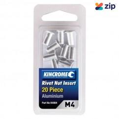 Kincrome K4904 - 20 Piece M4 Aluminum Rivet Nut Insert