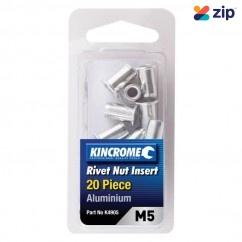 Kincrome K4905 - 20 Piece M5 Aluminum Rivet Nut Insert