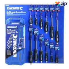Kincrome K50008 - 37 Piece 'Go Through' Screwdriver Merchandiser