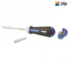Kincrome K5017 - 9 Piece Ratcheting Screwdriver Screwdriver