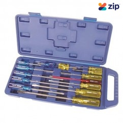 Kincrome K5053 - 14 Piece Acetate Handles Screwdriver And Precision Set  Screwdriver