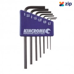 Kincrome K5085 - 7 Piece Mini Metric Hex Key Set Hex & Torx Key