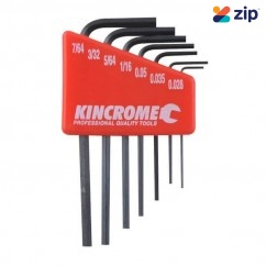 Kincrome K5086 - 7 Piece Mini AF Hex Key Set Hex & Torx Key