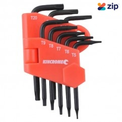 Kincrome K5087 - 8 Piece Mini Tamperproof Torx Set Hex & Torx Key