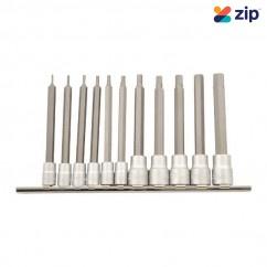 Kincrome K5224 - 11 Piece Long Series AF Hex Socket Set Sockets & Accessories
