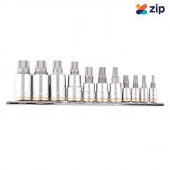 Kincrome K5228 - 11 Piece Short Spline Bit Set Sockets & Accessories