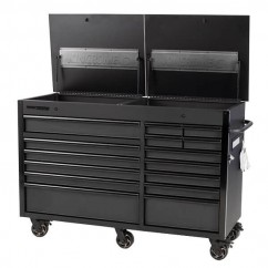 """Kincrome K7380 - 1600mm (63"""") 15 Drawer Twin Lid Mobile Work Bench"""