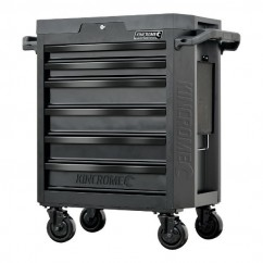 Kincrome K7536 - CONTOUR 6 Drawer Black Series  Tool Trolley Tool Cases