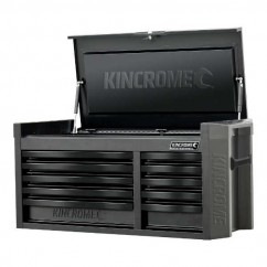 Kincrome K7540 - CONTOUR 10 Drawer Black Wide Tool Chest Tool Cases