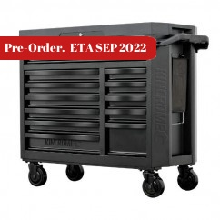 Kincrome K7542 - CONTOUR 12 Drawer Black Wide Tool Chest Tool Cases
