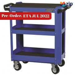 Kincrome K7743 - 3-Tier Heavy Duty Contour Tool Cart Workshop Trolleys