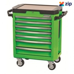 Kincrome K7747G - 7 Drawer Monster Green Contour Tool Trolley Workshop Tool Boxes & Trolleys