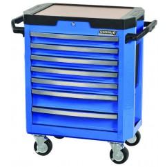 Kincrome K7747 - 7 Drawer Blue Tool Trolley Workshop Tool Boxes & Trolleys