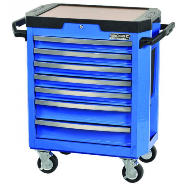Kincrome K7747 7 Drawer Blue Tool Trolley