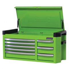 Kincrome K7758G - Contour Extra Wide 8 Drawer Tool Chest  Workshop Tool Boxes & Trolleys