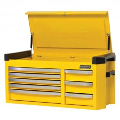 Kincrome K7758Y - Contour Extra Wide 8 Drawer Tool Chest Workshop Tool Boxes & Trolleys