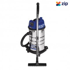 Kincrome KP703 - 30L 240V/1250W Wet & Dry Garage Vacuum Dust Extractors for Power Tools