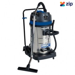 Kincrome KP705 - 240V 80L Twin 1000W Wet & Dry Workshop Vacuum Dust Extractors for Power Tools