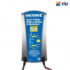 Kincrome KP87005 - 12V 12Amp Battery Charger & Maintainer