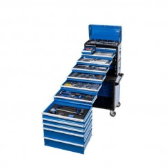 Kincrome P1708 - 245 Piece Metric & SAE 14 Drawer Evolution Workshop Tool Chest & Trolley Tool Chests & Trolleys