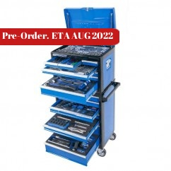 "Kincrome P1710 - 306 Piece 14 Drawer 1/4,3/8 & 1/2"" Drive Evolution Tool Chest"