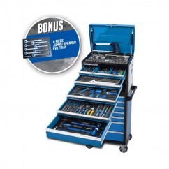 Kincrome P1927B - 281 PC 14 Drawer Evolution Tool Workshop With Bonus 2 Drawer Side Locker Tool Kit