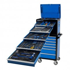 Kincrome K1222 - 275 Piece Metric Only 14 Drawer Evolution Deep Workshop Chest & Trolley Tool Chests & Trolleys