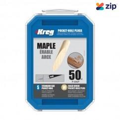 KREG P-MAP - Maple Solid-Wood Pocket-Hole Plugs Pack of 50 Kreg Accessories