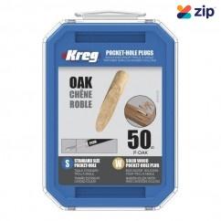 KREG P-OAK - Oak Solid-Wood Pocket-Hole Plugs Pack of 50 Kreg Accessories
