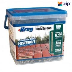 "Kreg SDK-C2W-700 - 2"" #8 Coarse Protec-Kote Deck Screw Deck Screws"