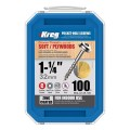 "Kreg SML-C125-100 - 1-1/4"" #8 Coarse Washer Head Pocket Screws Pocket Screws"