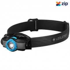 Led Lenser MH5 - 400 Lumens 180M 35H Headlamp ZL502145 Head Lamp with Replaceable Batteries