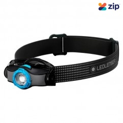 Led Lenser MH3 - 200 Lumens 130M 35H Headlamp ZL502150 Head Lamp with Replaceable Batteries