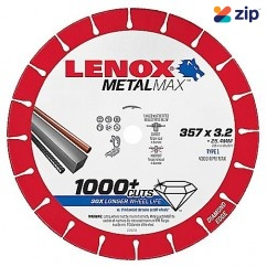 Lenox 1985498 - 357mm MetalMax Metal Cut Off Diamond Wheel Blade Saw Blades