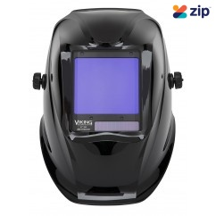 Lincoln K3034-4 - Viking Black 3350 Welding Helmet 4C Lens Head, Eye & Ear protection