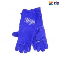 Lincoln LA120-3 - 390mm Lefties Blue Premium Welding Gloves  Welding Gloves