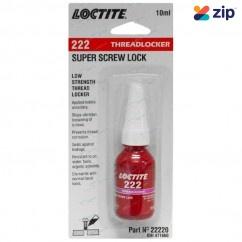 Loctite 222 - 10ml Low Strength Thixotropic Threadlocker 22220