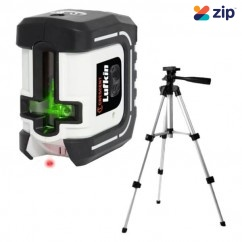 Lufkin LCL35G - Self-Leveling Multi-Line Green Beam Laser Level Kit with Tripod