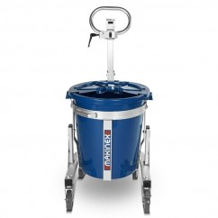 Makinex MS-100 - 100L Portable Mixing Station w/ Bucket /Lid Oversized