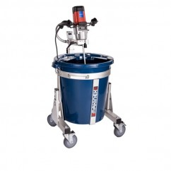 Makinex MS-100-M-AU - 1.8kW 100L Portable Mixing Station with Makinex Mixer
