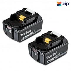 Makita 191C12-3 - 18V 5.0Ah Battery Twin Pack