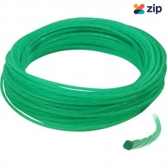 Makita 197472-9 - 2mm x 15M Green Silent Clover Leaf Nylon Line Makita Accessories