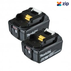 Makita 198490-0 - 18V 6.0Ah BL1860B-L Battery Twin Pack Batteries