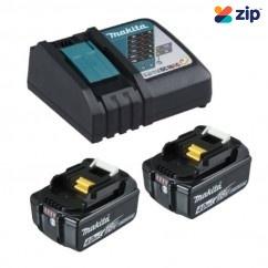 Makita DC18RC+2X4AH - 18V Rapid Charger and 2x 4.0ah BL1840B-L Battery Kit 198497-6 Batteries