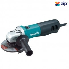 Makita 9565P - 240v 125MM 1100W Angle Grinder w/ Paddle Switch 125mm Grinders