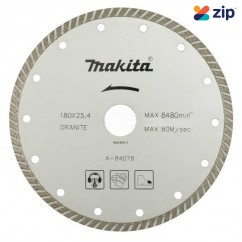 Makita A-84078 - 180mm Turbo Diamond Wheel Blade Makita Accessories