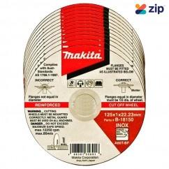 "Makita B-18150-12 - 125mm (5"") Elite Inox Cutting Discs 12-Pack"