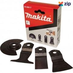 Makita B-30617 - 4 Piece Flooring Multi Tool Blade Set
